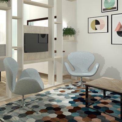 Mieszkanie w kamienicy – salon