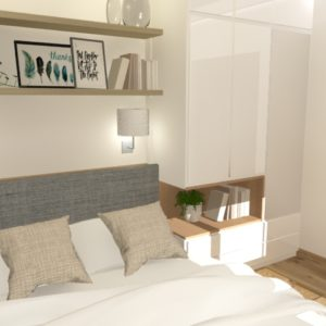 Mieszkanie w kamienicy – sypialnia