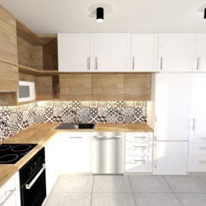 Projekt kuchni – kuchnia w bloku